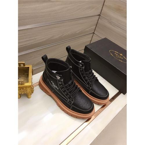 Prada High Tops Shoes For Men #829127