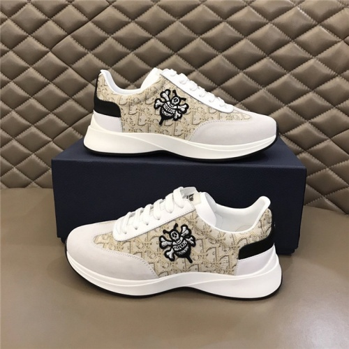 Christian Dior Casual Shoes For Men #829158 $76.00 USD, Wholesale Replica Christian Dior Casual Shoes