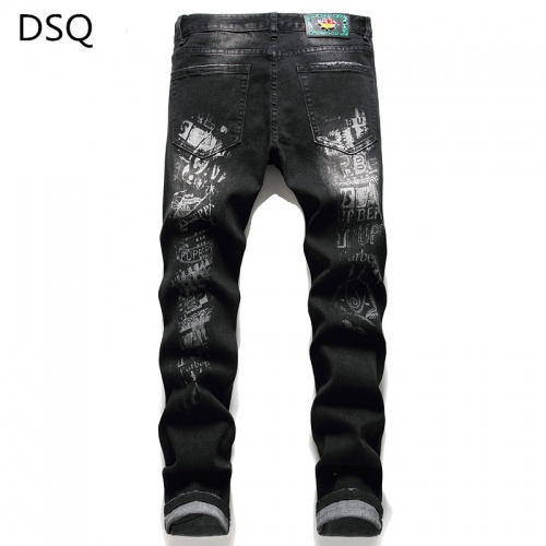 Replica Dsquared Jeans Trousers For Men #829277 $48.00 USD for Wholesale