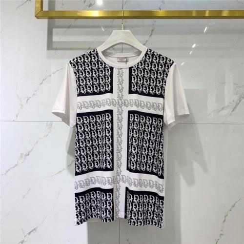 Christian Dior T-Shirts Short Sleeved O-Neck For Men #829284