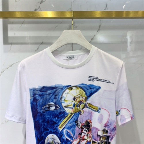 Replica Valentino T-Shirts Short Sleeved O-Neck For Men #829291 $41.00 USD for Wholesale