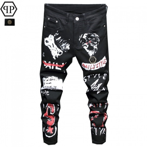 Philipp Plein PP Jeans Trousers For Men #829294