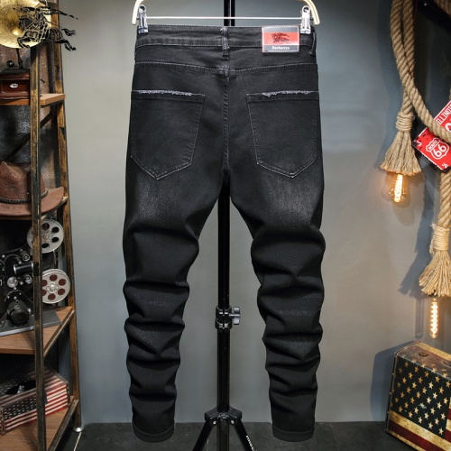 Replica Burberry Jeans Trousers For Men #829296 $48.00 USD for Wholesale