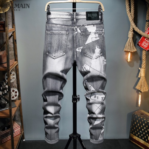 Balmain Jeans Trousers For Men #829300