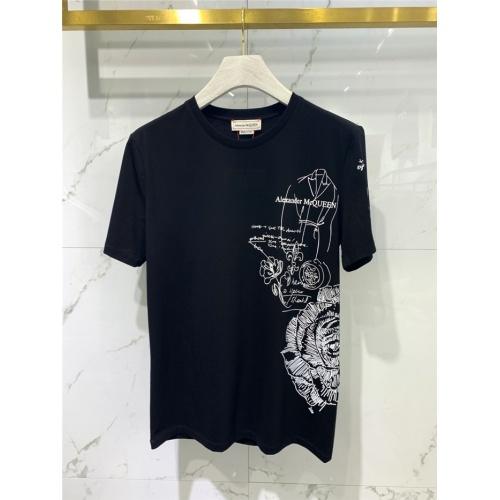 Alexander McQueen T-shirts Short Sleeved O-Neck For Men #829303
