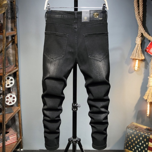 Replica Versace Jeans Trousers For Men #829304 $48.00 USD for Wholesale