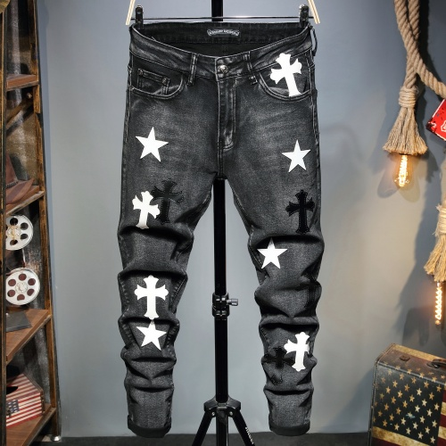 Chrome Hearts Jeans Trousers For Men #829312