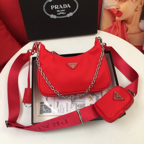 Prada AAA Quality Messeger Bags For Women #829361 $68.00, Wholesale Replica Prada AAA Quality Messeger Bags