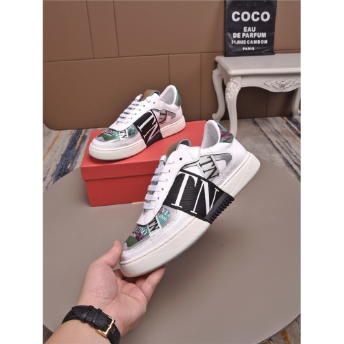 Valentino Casual Shoes For Men #829454 $85.00 USD, Wholesale Replica Valentino Casual Shoes