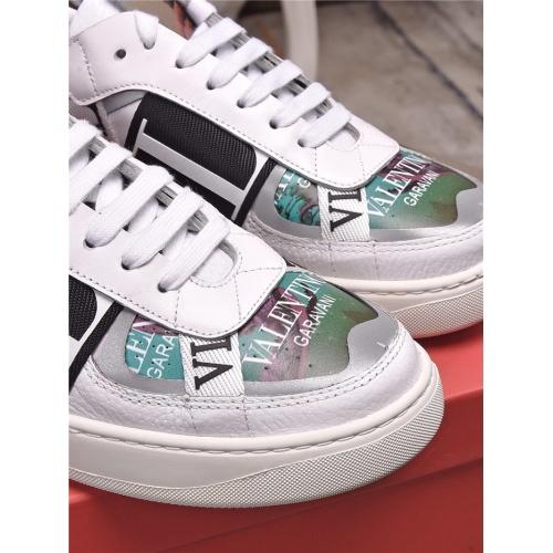Replica Valentino Casual Shoes For Men #829454 $85.00 USD for Wholesale