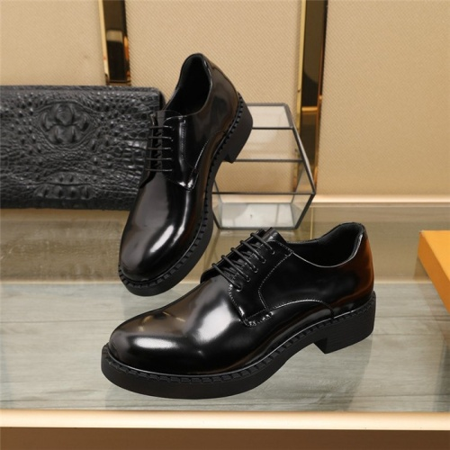 Prada Leather Shoes For Men #829493