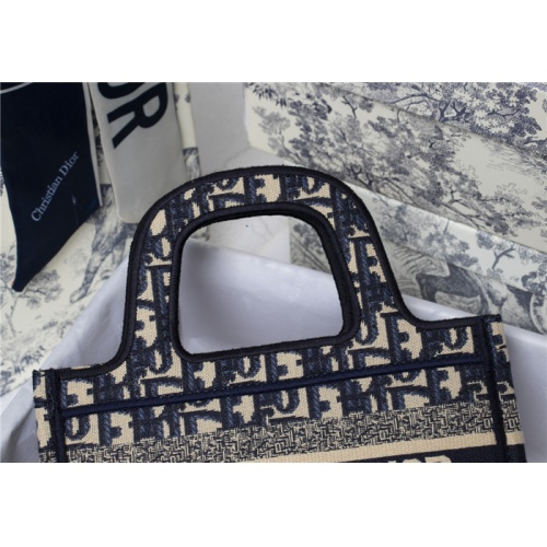 Replica Christian Dior AAA Quality Tote-Handbags For Women #829495 $73.00 USD for Wholesale