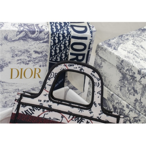 Replica Christian Dior AAA Quality Tote-Handbags For Women #829496 $73.00 USD for Wholesale