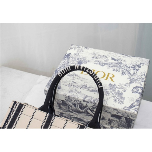 Replica Christian Dior AAA Quality Tote-Handbags For Women #829499 $76.00 USD for Wholesale