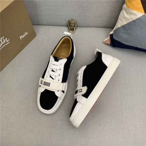 Replica Christian Louboutin Casual Shoes For Men #829535 $89.00 USD for Wholesale