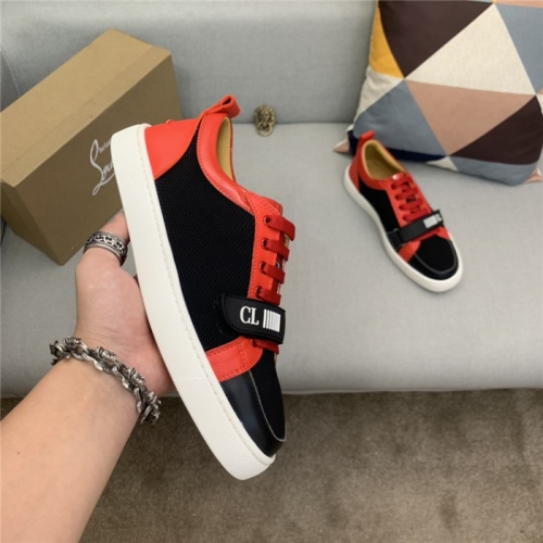 Replica Christian Louboutin Casual Shoes For Men #829536 $89.00 USD for Wholesale