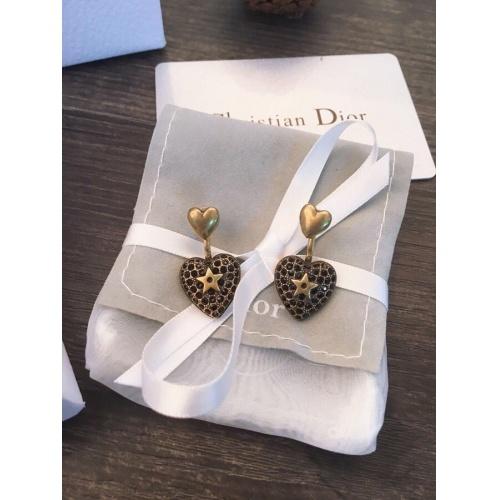 Christian Dior Earrings #829541 $29.00 USD, Wholesale Replica Christian Dior Earrings