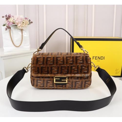 Fendi AAA Messenger Bags For Women #829612
