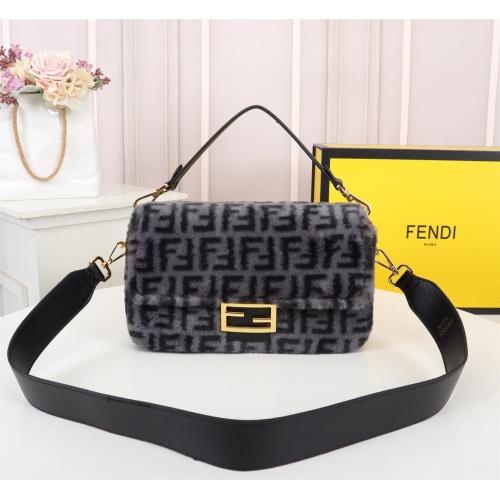 Fendi AAA Messenger Bags For Women #829613