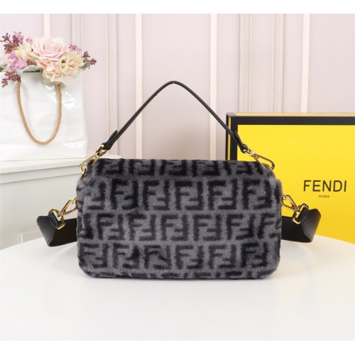 Replica Fendi AAA Messenger Bags For Women #829613 $108.00 USD for Wholesale