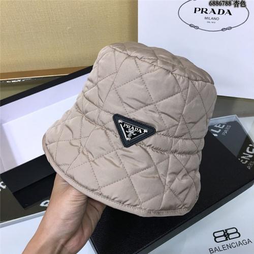 Prada Caps #829647 $34.00 USD, Wholesale Replica Prada Caps
