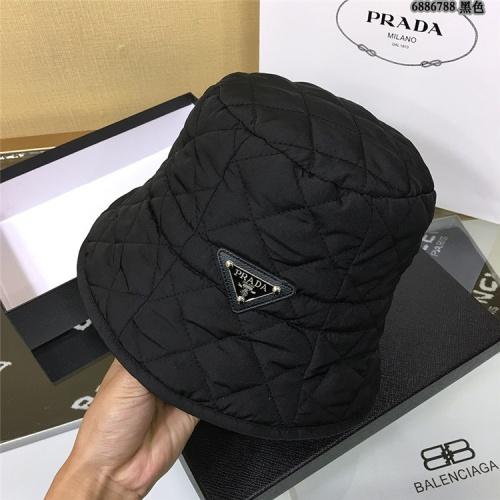 Prada Caps #829648 $34.00 USD, Wholesale Replica Prada Caps