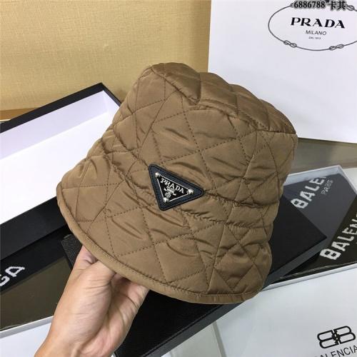 Prada Caps #829649 $34.00 USD, Wholesale Replica Prada Caps