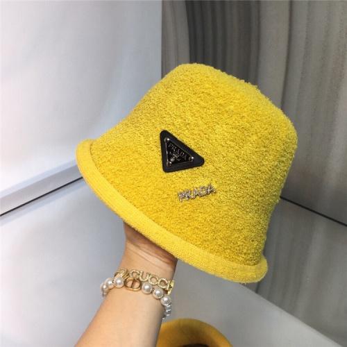 Prada Caps #829651 $36.00 USD, Wholesale Replica Prada Caps