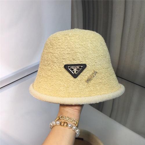 Prada Caps #829653 $36.00 USD, Wholesale Replica Prada Caps