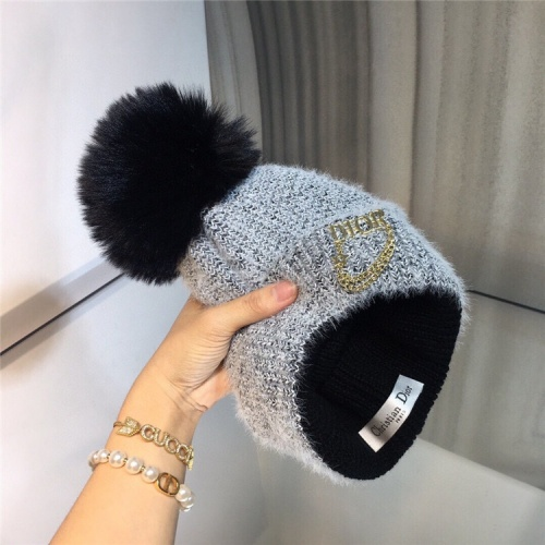 Replica Christian Dior Woolen Hats #829698 $32.00 USD for Wholesale