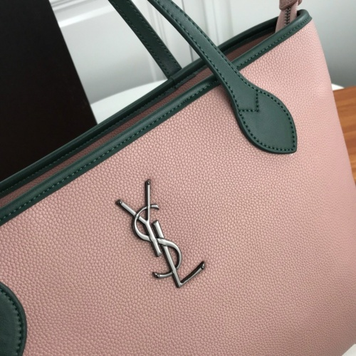 Replica Yves Saint Laurent YSL AAA Quality Tote-Handbags For Women #829798 $98.00 USD for Wholesale