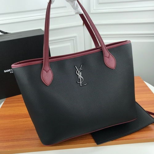 Replica Yves Saint Laurent YSL AAA Quality Tote-Handbags For Women #829800 $98.00 USD for Wholesale