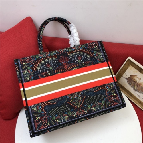 Replica Christian Dior AAA Quality Tote-Handbags For Women #829836 $80.00 USD for Wholesale
