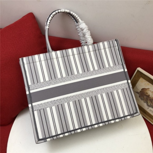 Replica Christian Dior AAA Quality Tote-Handbags For Women #829837 $80.00 USD for Wholesale