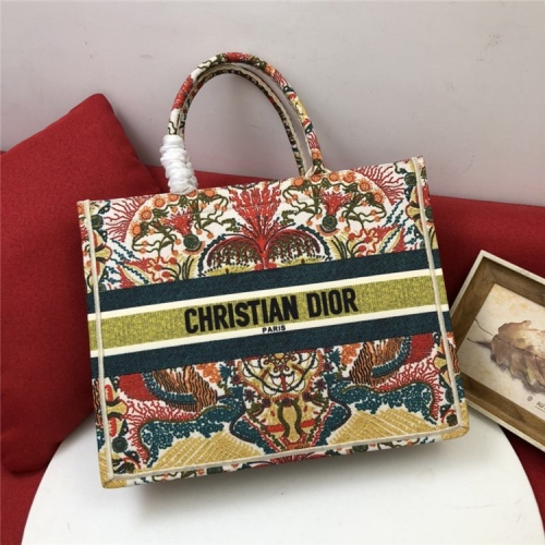 Christian Dior AAA Quality Tote-Handbags For Women #829838 $80.00, Wholesale Replica Christian Dior AAA Handbags
