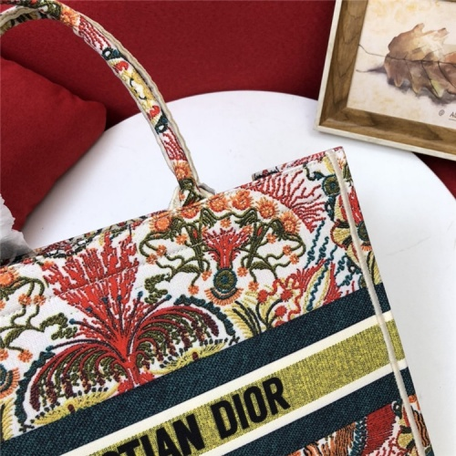 Replica Christian Dior AAA Quality Tote-Handbags For Women #829838 $80.00 USD for Wholesale