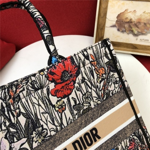 Replica Christian Dior AAA Quality Tote-Handbags For Women #829839 $80.00 USD for Wholesale