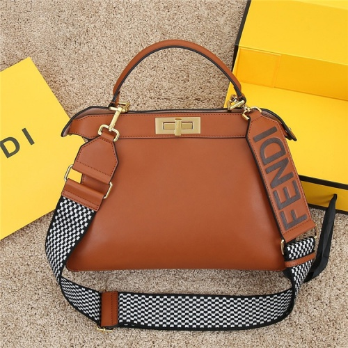 Fendi AAA Quality Handbags For Women #829845