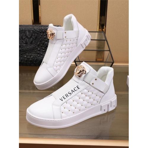 Versace Casual Shoes For Men #829926 $82.00, Wholesale Replica Versace Casual Shoes