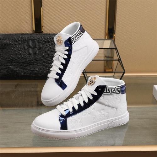 Versace High Tops Shoes For Men #829929