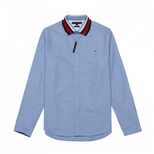 Tommy Hilfiger TH Shirts Long Sleeved Polo For Men #829991 $39.00 USD, Wholesale Replica Tommy Hilfiger TH Shirts