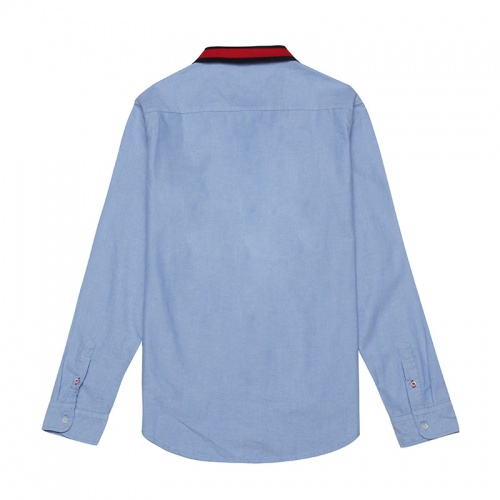 Replica Tommy Hilfiger TH Shirts Long Sleeved Polo For Men #829991 $39.00 USD for Wholesale