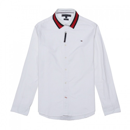 Tommy Hilfiger TH Shirts Long Sleeved Polo For Men #829992 $39.00, Wholesale Replica Tommy Hilfiger TH Shirts