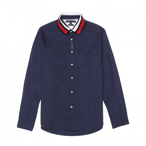 Tommy Hilfiger TH Shirts Long Sleeved Polo For Men #829993