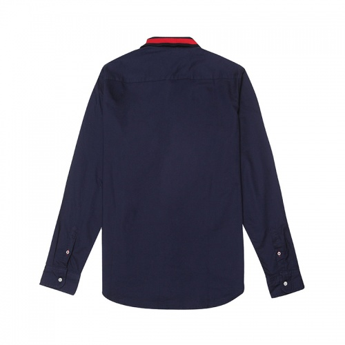 Replica Tommy Hilfiger TH Shirts Long Sleeved Polo For Men #829993 $39.00 USD for Wholesale