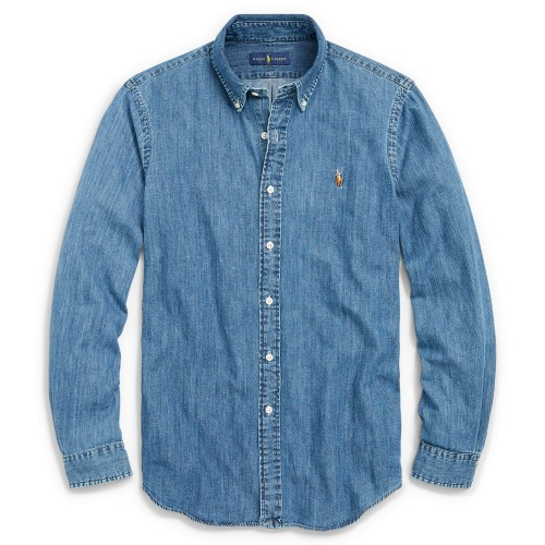 Ralph Lauren Polo Shirts Long Sleeved Polo For Men #829994