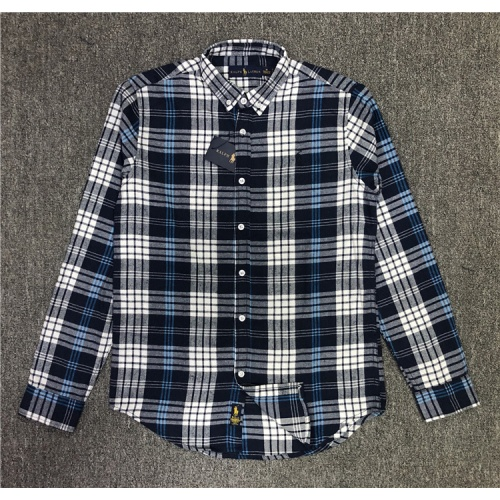 Ralph Lauren Polo Shirts Long Sleeved Polo For Men #829996