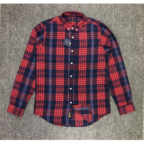Ralph Lauren Polo Shirts Long Sleeved Polo For Men #829998