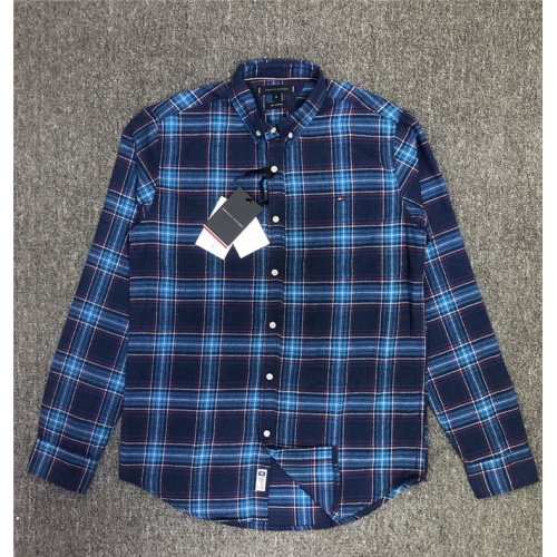 Tommy Hilfiger TH Shirts Long Sleeved Polo For Men #830003