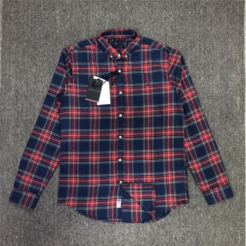 Tommy Hilfiger TH Shirts Long Sleeved Polo For Men #830004